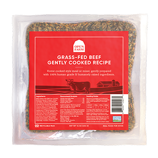 Open Farm - Gently Cooked - Grass Fed Beef Recipe