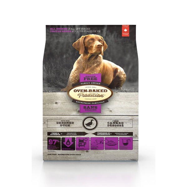 Oven Baked Tradition Dog Food - Grain Free - Duck