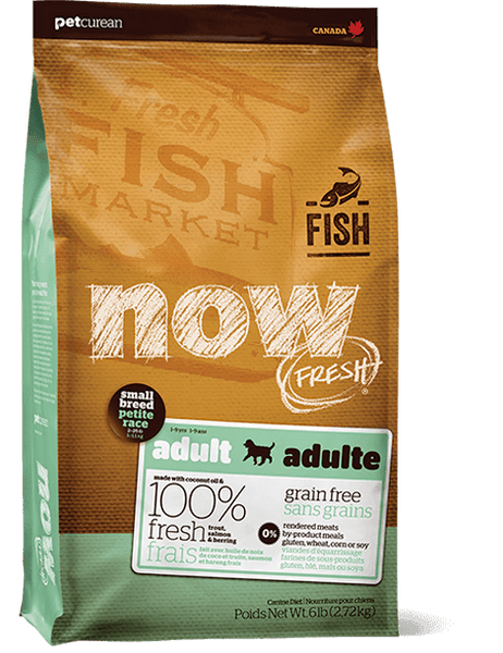 Now Fresh - Grain Free - Adult Fish - Small Breed