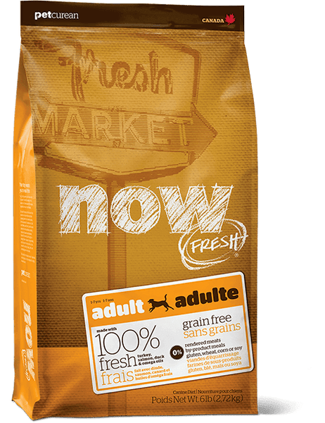 Now Fresh - Grain Free - Adult - Turkey, Salmon, Duck