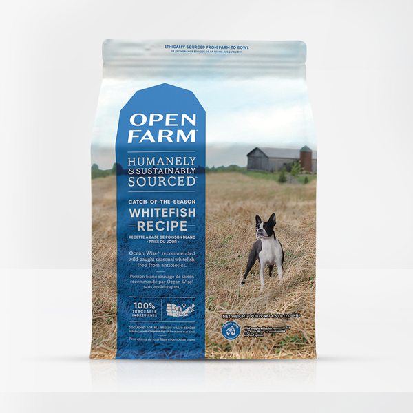 Open Farm - Grain Free Dry Dog Food - Catch of the Season Whitefish & Green Lentil