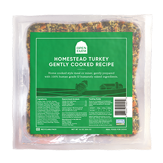 Open Farm - Gently Cooked - Turkey Recipe