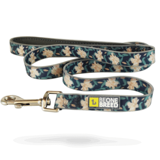Be One Breed - Silicone Leash -  Autumn Flowers