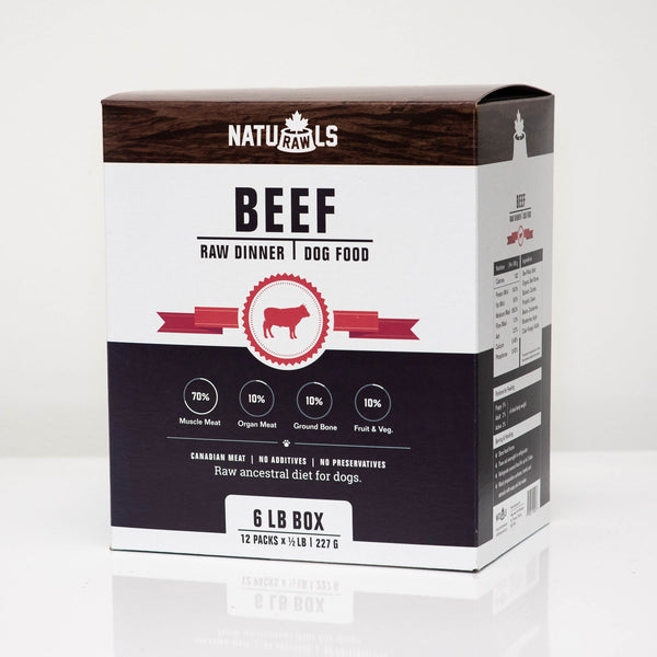 NatuRAWls - Frozen Raw Beef with Veggies