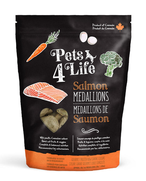 Pets 4 Life - Frozen Salmon - 3lb Bag