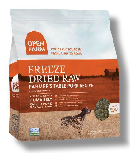 Open Farm - Freeze Dried Raw Dog Food - Pork