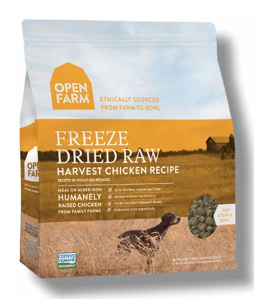 Open Farm - Freeze Dried Raw Dog Food - Chicken