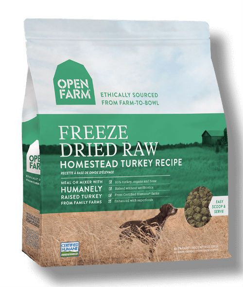Open Farm - Freeze Dried Raw Dog Food - Turkey