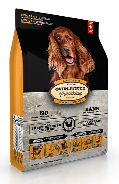 Oven Baked Tradition Dog Food - Senior