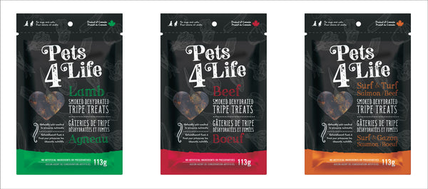 Pets 4 Life - Dehydrated Tripe Treats