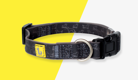 Be One Breed - Silicone Collar - Black Doggies