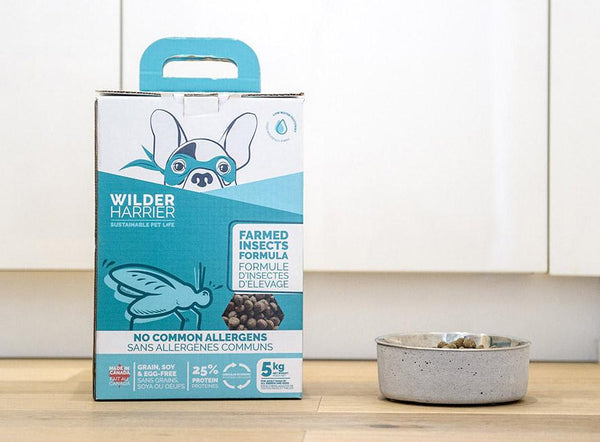 Wilder & Harrier - Farmed Insects Dog Food