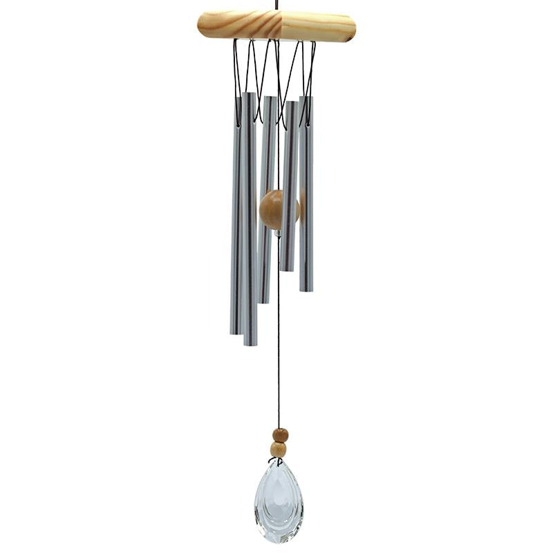 Wind Chime With 5 Chimes & Crystal