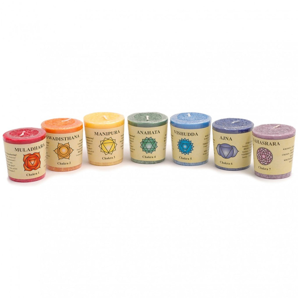 Chakra Candles (Set of 7)