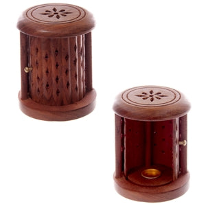 Barrel Incense Cone Burner