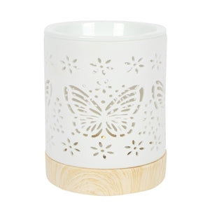 Ceramic Butterfly Cut Out Oil Burner