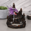 Purple and Silver Dragon Incense Backflow Burner