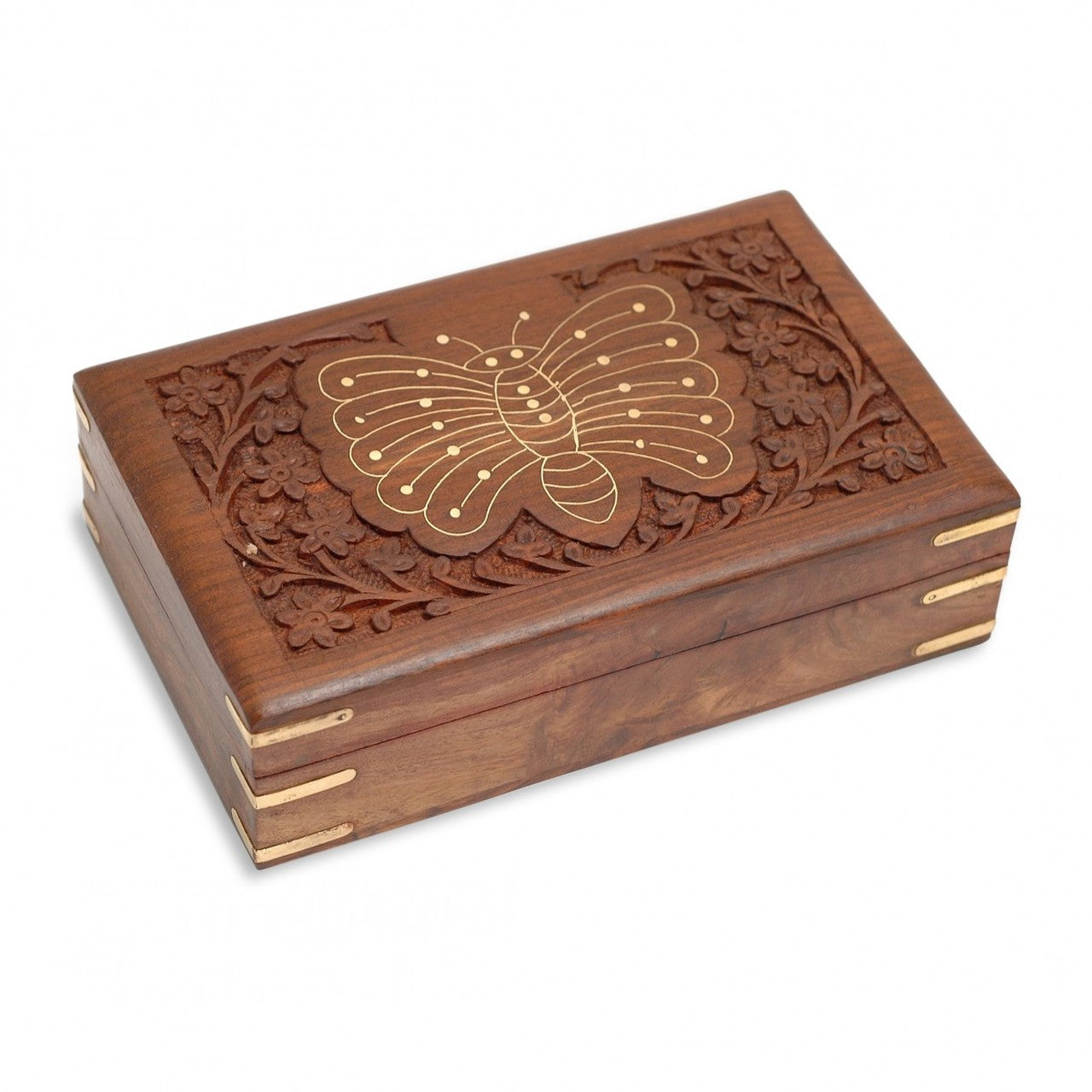 Sheesham Butterfly Box