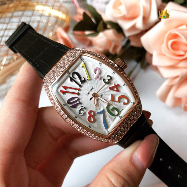 WG0953   Women's Watches Top Brand Runway Luxury European Design  Quartz Wristwatches