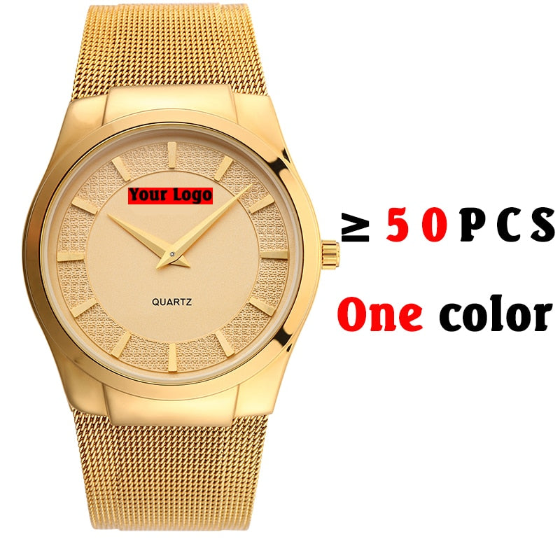 Type 2499 Custom Watch Over 50 Pcs Min Order One Color( The Bigger Amount, The Cheaper Total )