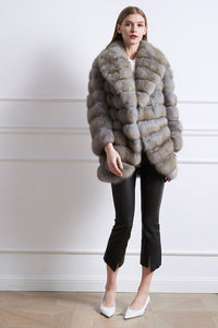 arlenesain 2019 nexest luxurious real sable fur long jacket
