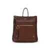 Backpack L cork FW20 Dark brown