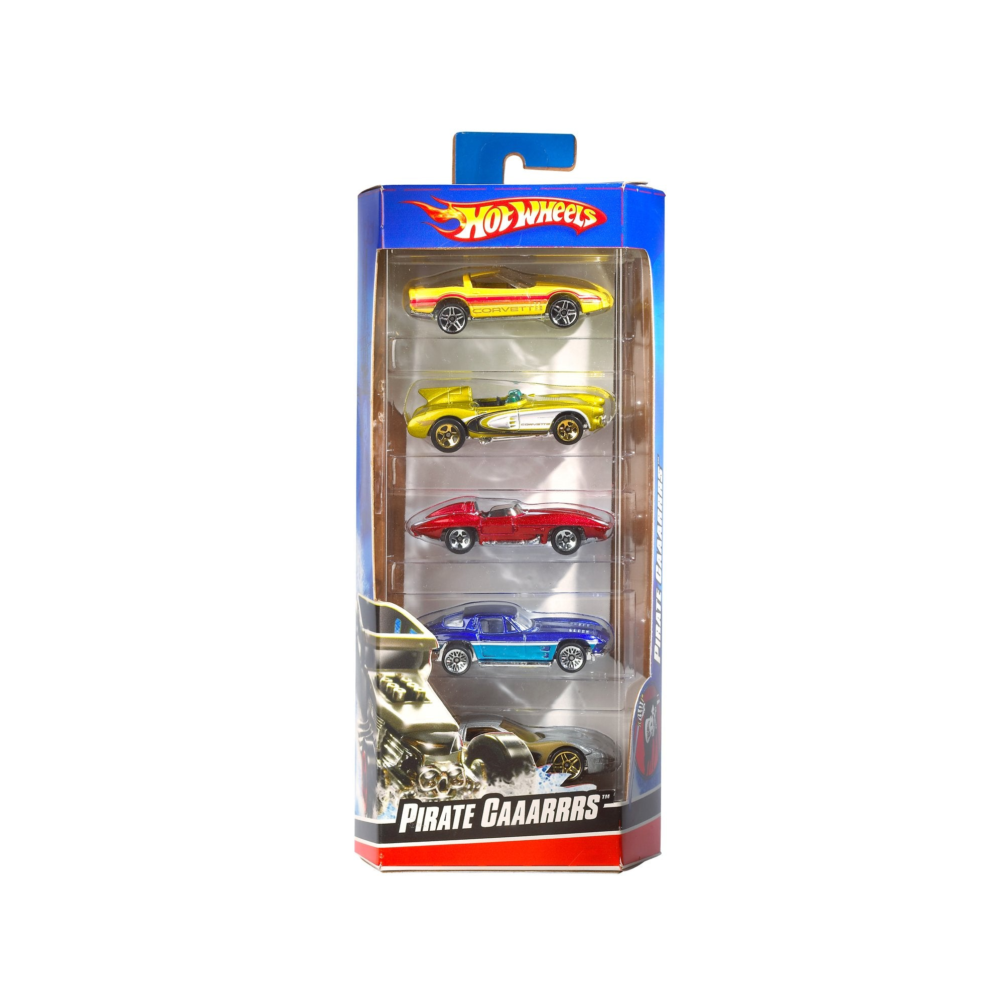 Hot Wheels- Paquete de 5 Autos