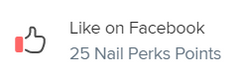 Facebook Like Nail Perks Points