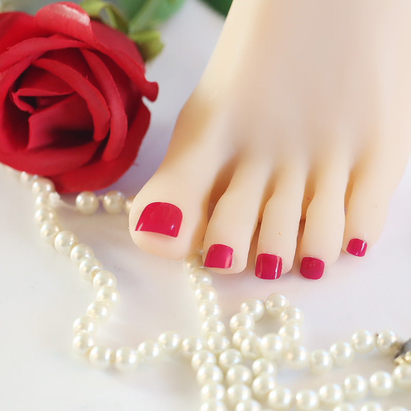 Electric Pink - Toenail Strips