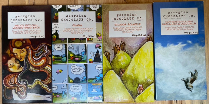 Georgian Chocolate Co Chocolate bars