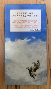 Georgian Chocolate Co Chocolate bar Haiti Toasted Coconut