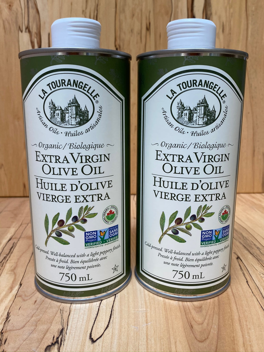 La Tourangelle Extra Virgin Olive Oil - 750ml