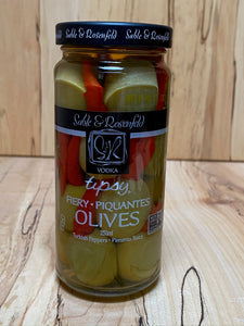 Tipsy Fiery Olives