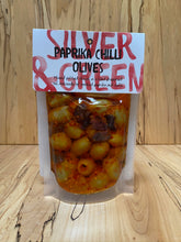 Load image into Gallery viewer, Paprika Chilli Olives
