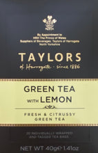 Load image into Gallery viewer, Taylors of Harrogate Green Tea with Lemon