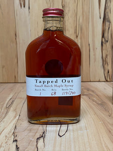 Tapped Out Small Batch Maple Syrup