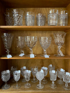 Antique, Vintage and Pressed Glass