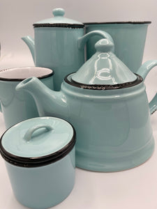Enamel Look Collection - Light Turquoise