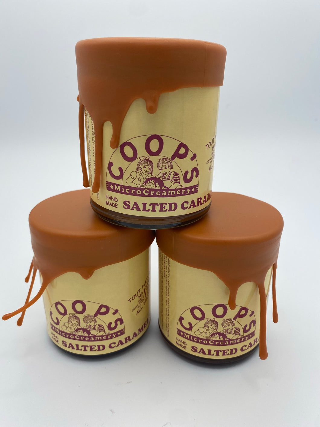 Salted Caramel Sauce - Coops Microcreamery