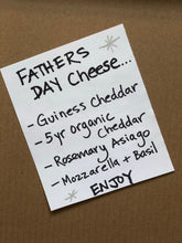 Load image into Gallery viewer, Father's Day (Cider & Cheese)