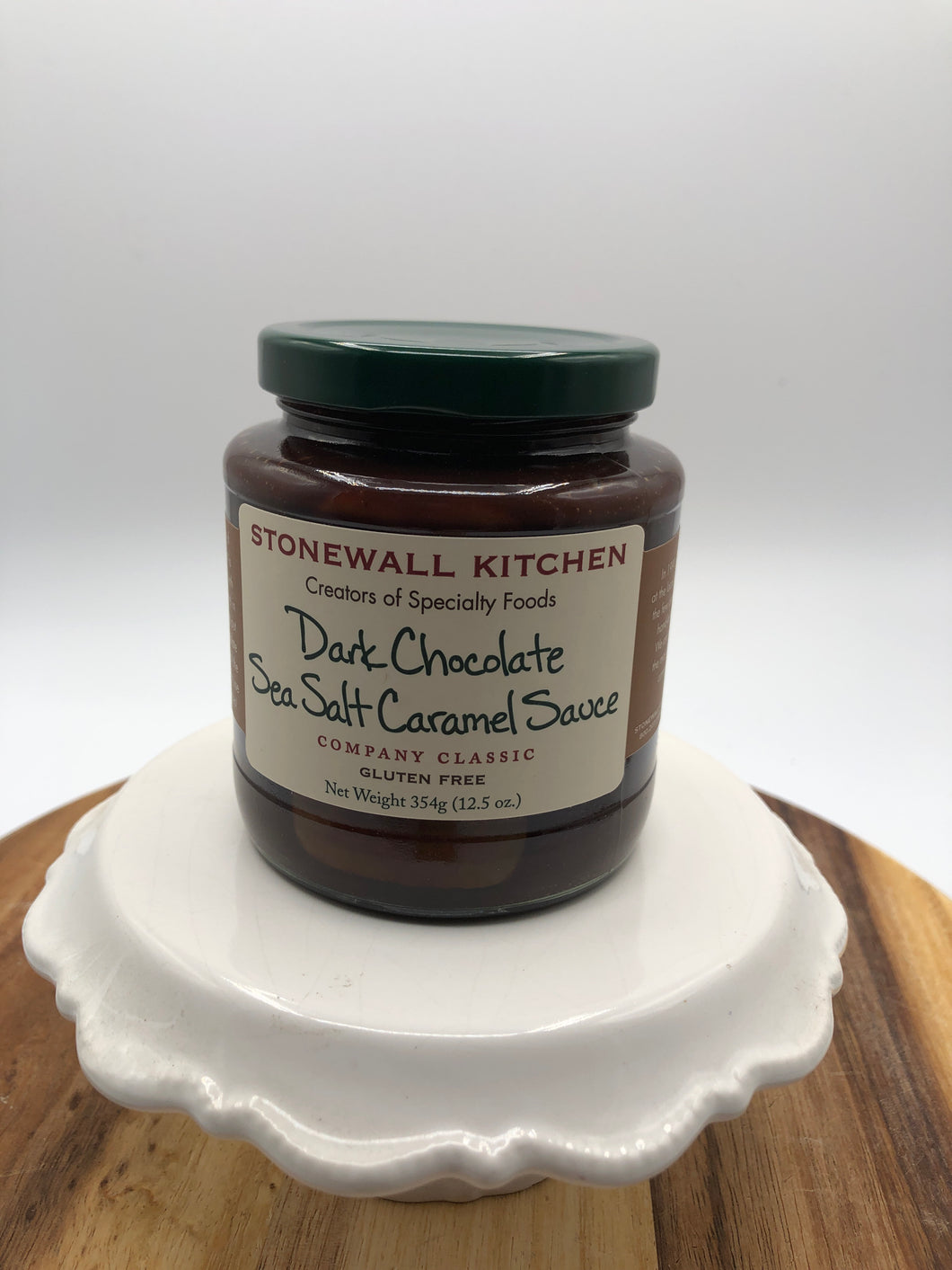 Dark Chocolate Sea Salt & Caramel Sauce