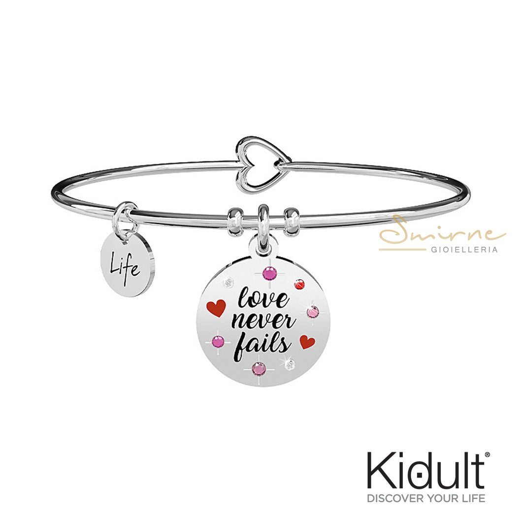 Bracciale Love Never fails Kidult