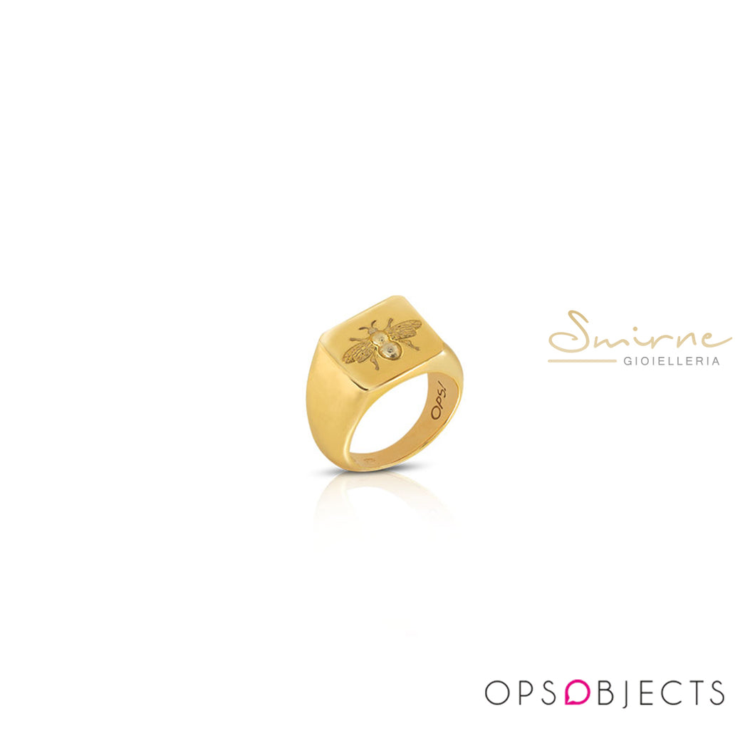 Anello Ops Objects Icon Queen B