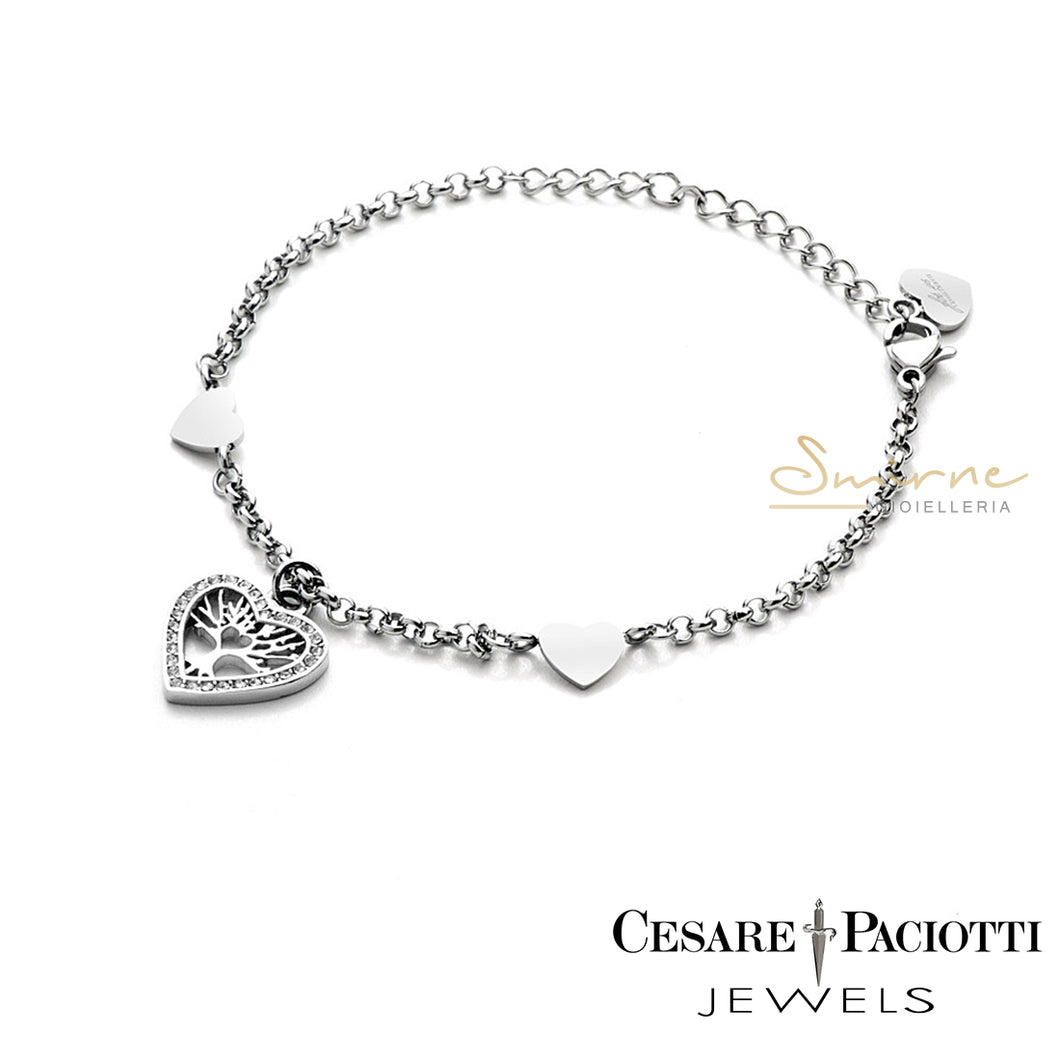 Bracciale donna 4US Heart tree of life