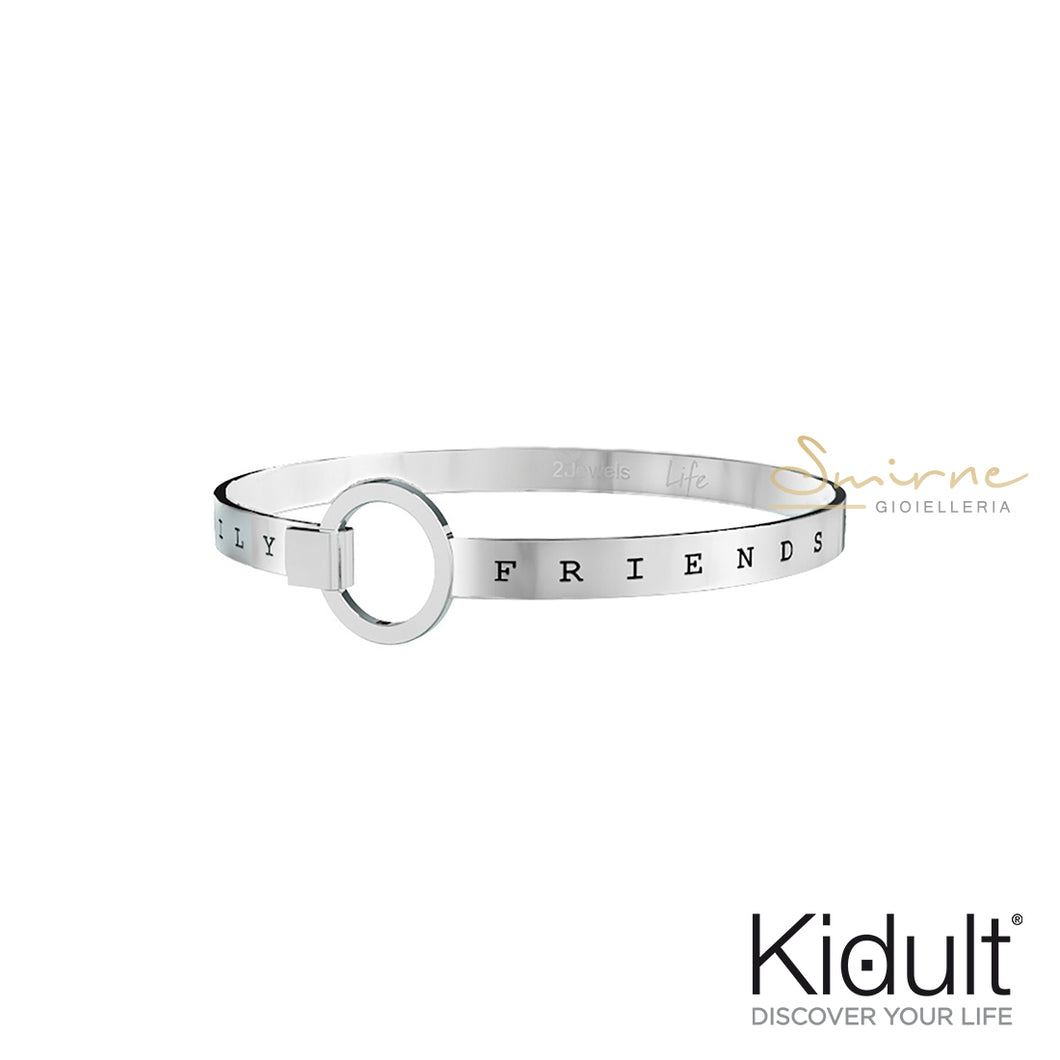 Bracciale Kidult FRIENDS BECOME OUR - Smirne Gioielleria