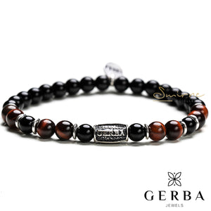 Bracciale Gerba Red and Black 246