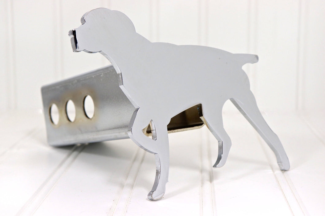 Chrome Pointer Dog Hitch Cover, Free Shipping