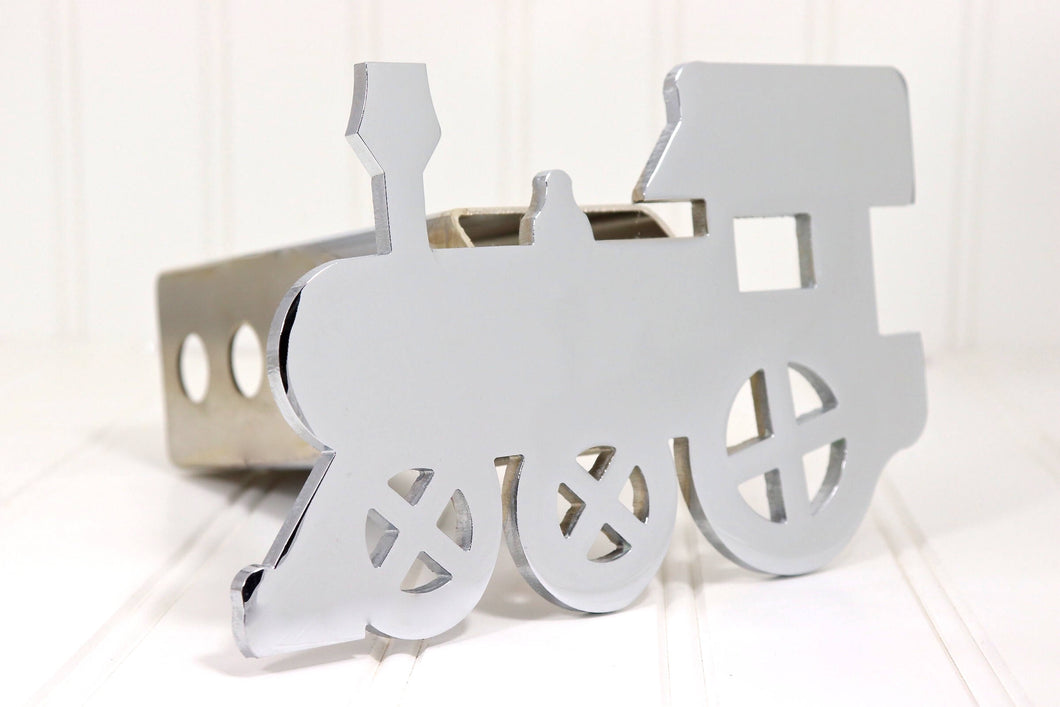 Chrome Train Hitch Cover, Free Shipping