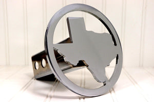 Circle Texas Hitch Cover, Free Shipping