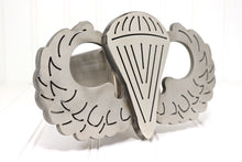 Load image into Gallery viewer, Stainless Steel Parachutist Badge Hitch Cover, Free Shipping
